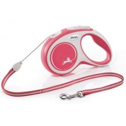 Flexi New Comfort Smycz linka S 5m czerwona [FL-2823]
