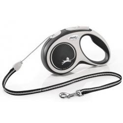 Flexi New Comfort Smycz linka S 5m czarna [FL-2847]