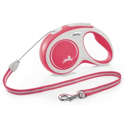 Flexi New Comfort Smycz linka S 8m czerwona [FL-3028]