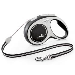 Flexi New Comfort Smycz linka S 8m czarna [FL-3042]
