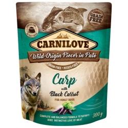 Carnilove Dog Carp & Black Carrot - karp i czarna marchew saszetka 300g