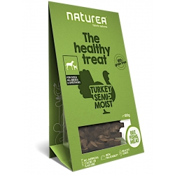 Naturea Indyk - Bezzbożowe zdrowe przysmaki dla psów, 100g