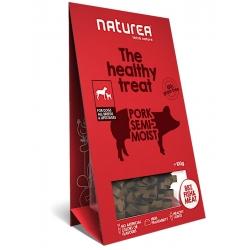 Naturea Wieprzowina - Bezzbożowe zdrowe przysmaki dla psów, 100g