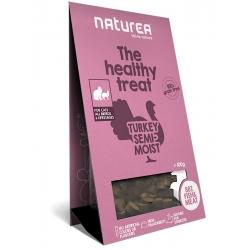 Naturea Indyk - Bezzbożowe zdrowe przysmaki dla kotów, 100g