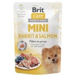 Brit Care Dog Mini Rabbit & Salmon saszetka 85g