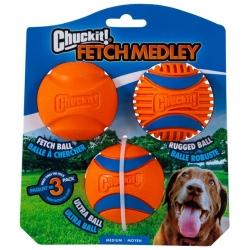 Chuckit! Fetch Medley III 3pak [47089D]