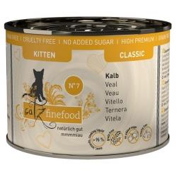 Catz Finefood Kitten N.07 Wołowina i cielęcina puszka 200g