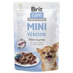 Brit Care Dog Mini Venison saszetka 85g