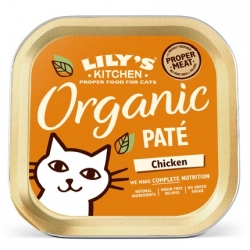 Lily's Kitchen Kot Organic Chicken Dinner tacka 85g