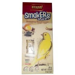 Vitapol Smakers dla kanarka - biszkopt z makiem 2szt [2514]