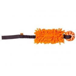 Dingo Zabawka dla psa - Szarpak Mop Bungee z piłką pomarańczowy