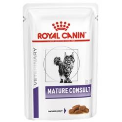 Royal Canin Veterinary Care Mature Consult Cat sos saszetka 85g