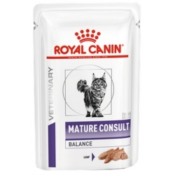Royal Canin Veterinary Care Mature Consult Balance Cat saszetka 85g