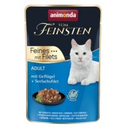 Animonda vom Feinsten Cat Adult Drób + filet z mintaja saszetka 85g