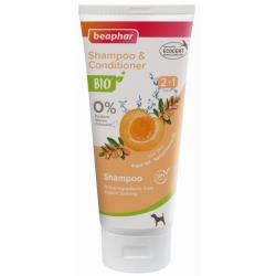 Beaphar BIO Shampoo & Conditioner 2in1 - organiczny szampon 2w1 dla psów 200ml