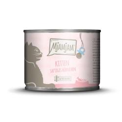 MjAMjAM - Kitten 200g - soczysty kurczak z olejem z łososia dla kociąt