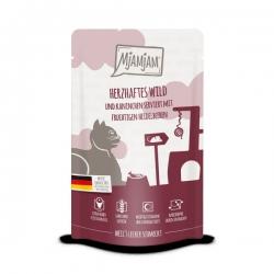 MjAMjAM - Wild & Kaninchen 125g - dziczyzna i królik z borówkami