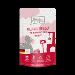 MjAMjAM - Hirsch und Truthahn 125g - jeleń i indyk ze świeżą żurawiną