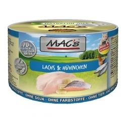 MAC'S łosoś, kurczak 200g
