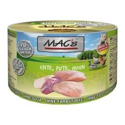 MAC'S kaczka, indyk, kurczak 200g