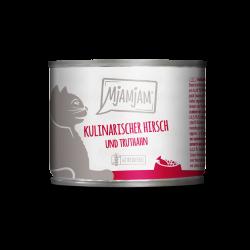 MjAMjAM - Hirsch und Truthahn 200g - jeleń i indyk ze świeżą żurawiną