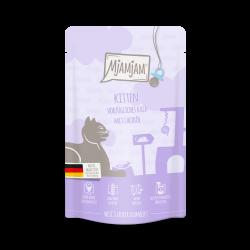 MjAMjAM - Kitten - Kalb mit Lachsöl 125g - cielęcina z olejem z łososia dla kociąt