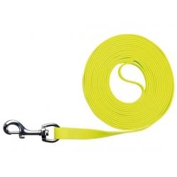 Trixie Easy Life Smycz do tropienia M-XL 5m/17mm odblaskowa żółty neonowy [20717]