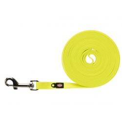 Trixie Easy Life Smycz do tropienia M-L 5m/13mm odblaskowa żółty neonowy [20725]
