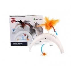 GiGwi Pet Droid Feather Spinner - interaktywna zabawka dla kota