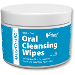 Vetfood chusteczki MAXI/GUARD Oral Cleansing Wipes 100 szt.