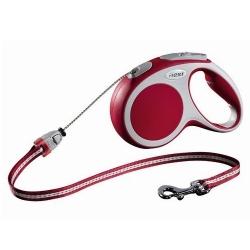 Flexi Vario Smycz linka M 5m czerwona [FL-9214]