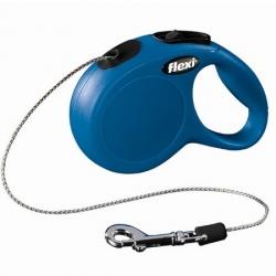 Flexi New Classic Smycz linka XS 3m niebieska [FL-2412]