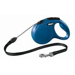 Flexi New Classic Smycz linka M 5m niebieska [FL-2610]