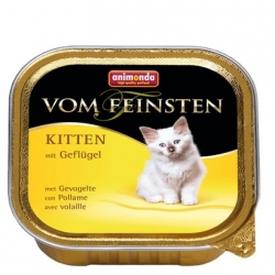 Animonda vom Feinsten Cat Kitten z Drobiem tacka 100g