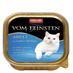 Animonda vom Feinsten Cat Adult z Łososiem i Krewetkami tacka 100g