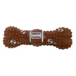 Zolux Zabawka winylowa piłka-kość do rugby 15cm [480777]