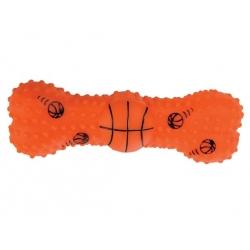 Zolux Zabawka winylowa piłka-kość do koszykówki 15cm [480776]