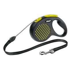 Flexi Smycz Design linka M 5m żółty