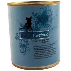Catz Finefood N.13 Śledź i Kraby puszka 800g