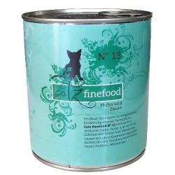 Catz Finefood N.15 Kurczak i Bażant puszka 800g