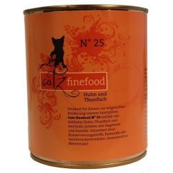 Catz Finefood N.25 Kurczak i Tuńczyk puszka 800g