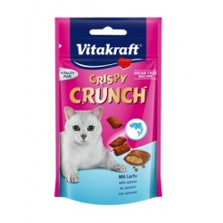 Vitakraft Cat Crispy Crunch łosoś 60g [2428815]