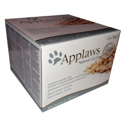 Applaws puszki dla kota Multipack Mixed 12x70g
