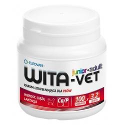 Wita-Vet Junior+Adult CA/P 2  3,2g 100tabl. - preparat witaminowy dla ciężarnych suk i szczeniąt