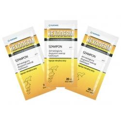Hexoderm - szampon dermatologiczny dla gryzoni saszetki 20x20ml