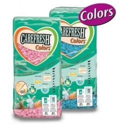 Chipsi CareFresh Colors - Pink 10L - ściółka różowa
