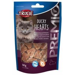 Trixie Premio Ducky Hearts - kacze serca 50g [42705]