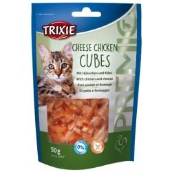 Trixie Premio Chicken Cheese Cubes - kurczak z serem 50g [42717]