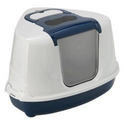 Yarro/Moderna Toaleta narożna z filtrem granatowa [Y3401]