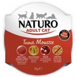 Naturo Kot Adult Tuńczyk Grain Free tacka 85g